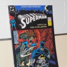Fumetti: SUPERMAN Nº 102 PACTO MORTIFERO CAPITULO 3 BATMAN SOBRE METROPOLIS DC - ZINCO. Lote 293495348