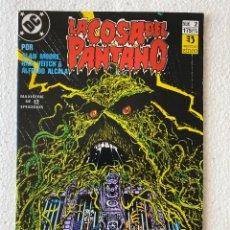 Cómics: LA COSA DEL PANTANO 1987 2/12 EN MUY BUEN ESTADO ZINCO. Lote 293596383