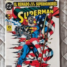 Cómics: SUPERMAN EL REINADO DE LOS SUPERHÉROES Nº 2 ZINCO. Lote 293626383