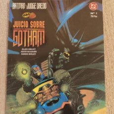 Cómics: BATMAN JUDGE DREDD - JUEZ DREDD: JUICIO SOBRE GOTHAM. ZINCO. TOMO PRESTIGIO. IMPECABLE. Lote 293912708