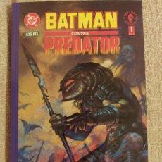 Cómics: BATMAN CONTRA PREDATOR. MINISERIE COMPLETA. TOMOS PRESTIGIOS 1, 2 Y 3. ZINCO-NORMA. IMPECABLES. Lote 293913463