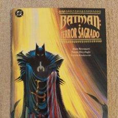Cómics: BATMAN: TERROR SAGRADO. TOMO PRESTIGIO. ZINCO. IMPECABLE. Lote 293913683