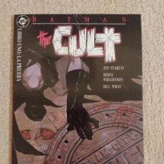 Cómics: BATMAN: THE CULT. MINISERIE PRESTIGIO COMPLETA. TOMOS 1, 2, 3 Y 4. ZINCO. IMPECABLE. Lote 293914253