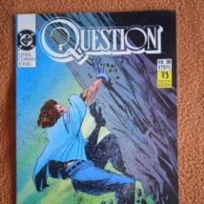 Cómics: QUESTION 36 ZINCO. Lote 293929188