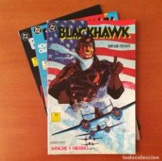 Cómics: BLACKHAWK EDICIONES ZINCO COMPLETA 3 Nº.. Lote 293940208