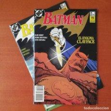 Cómics: BATMAN EL ENIGMA CLAYFACE EDICIONES ZINCO COMPLETA 2 Nº.. Lote 293940313