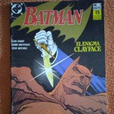 Cómics: BATMAN 1 EL ENIGMA CLAYFACE. Lote 293943733