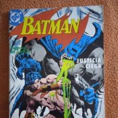 Cómics: BATMAN 2 JUSTICIA CIEGA. Lote 293943873