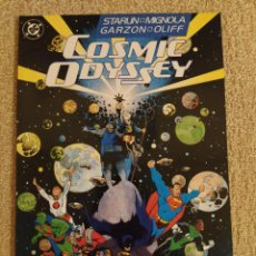 Cómics: COSMIC ODYSSEY. MINISERIE PRESTIGIO COMPLETA. TOMOS 1, 2, 3 Y 4. ZINCO. IMPECABLES. Lote 293944288
