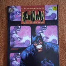 Cómics: LEYENDAS DE BATMAN 42 ZINCO. Lote 293944593