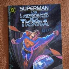 Cómics: SUPERMAN LOS LADRONES DE LA TIERRA ZINCO. Lote 293944753