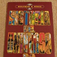 Cómics: HISTORIA DEL UNIVERSO DC. MINISERIE COMPLETA. TOMOS PRESTIGIOS 1 Y 2. ZINCO.. Lote 293963393