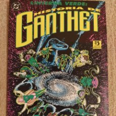 Cómics: LINTERNA VERDE (GREEN LANTERN): HISTORIA DE GANTHET. TOMO PRESTIGIO. ZINCO. JOHN BYRNE. IMPECABLE. Lote 293964368