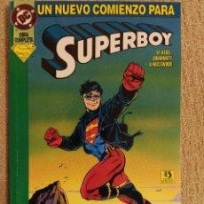 Cómics: SUPERBOY: UN NUEVO COMIENZO. KESEL Y GRUMMETT. ZINCO. TOMO.. Lote 294008648