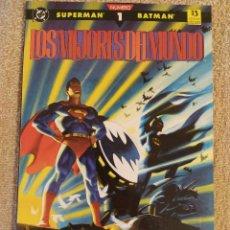 Cómics: SUPERMAN Y BATMAN: LOS MEJORES DEL MUNDO. COMPLETA. PRESTIGIO. NÚMEROS 1, 2 Y 3. ZINCO. IMPECABLES. Lote 294009378
