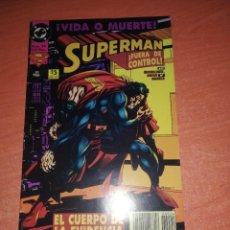 Cómics: SUPERMAN Nº 24 EL HOMBRE DE ACERO MICHELINE EDICIONES ZINCO 52 PAGS. NUEVO. Lote 294031143