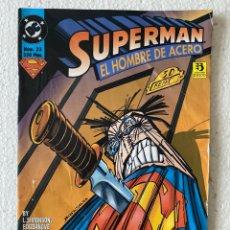 Cómics: SUPERMAN EL HOMBRE DE ACERO #33 - ZINCO -. Lote 294044733