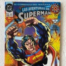 Cómics: SUPERMAN EL HOMBRE DE ACERO #20 - ZINCO -. Lote 294044958