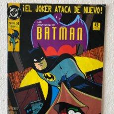 Cómics: LAS AVENTURAS DE BATMAN #16 - ZINCO. Lote 294048758