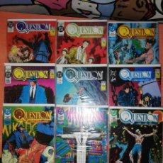 Cómics: QUESTION COMPLETA (1988-1991) 36 NUMEROS - ZINCO - IMPECABLES. Lote 294099583