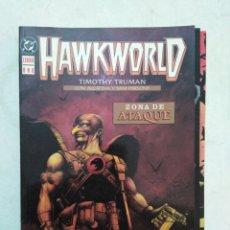 Cómics: COLECCIÓN COMPLETA HAWKWORLD ( NÚMEROS DEL 1 AL 3 ) TIMOTHY TRUMAN. Lote 294108153