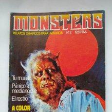 Cómics: MONSTERS Nº 2. RELATOS GRÁFICOS PARA ADULTOS. EDICIONES ZINCO. TDKC46. Lote 294940628