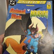 Cómics: UNIVERSO DC: ANIMAL MAN Y MANBAT NÚMERO 21 (ZINCO). Lote 294958403