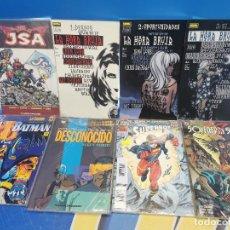 Cómics: LOTE 8 DC COMICS-LA HORA BRUJA-JSA-SUPERBOY-SOVEREING SEVEN-INVESTIGADORES DE LO DESCONOCIDO. Lote 295005978