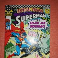 Cómics: SUPERMAN. EDICIONES ZINCO. DC. Nº 8. ...¡Y EL HIJO DE BRAINIAC! IMPECABLE. CONTIENE POSTER LEGION. Lote 295862563