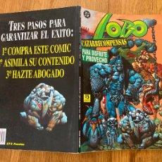 Cómics: ¡LIQUIDACION! PEDIDO MINIMO 5 EUROS - LOBO / GUIA PRACTICA DEL CAZARECOMPENSAS - ZINCO -. Lote 296597208