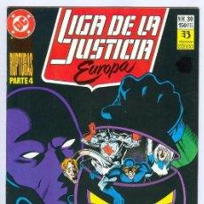 Cómics: ZINCO. LIGA DE LA JUSTICIA EUROPA. 30.. Lote 289275113