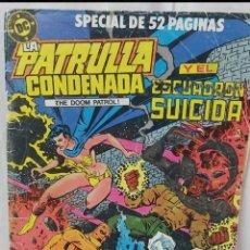 Cómics: COMIC ANTIGUO DE LA PATRULLA CONDENADA AÑO 1988. Lote 296733068