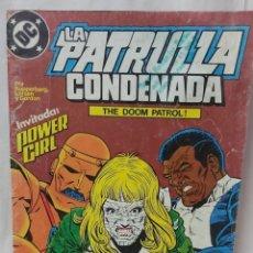 Cómics: COMIC ANTIGUO DE LA PATRULLA CONDENADA AÑO 1988. Lote 296741773