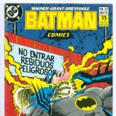 Cómics: ZINCO. BATMAN. 37.. Lote 283446068