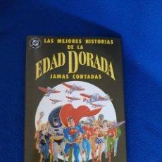 Cómics: LAS MEJORES HISTORIAS DE LA EDAD DORADA JAMÁS CONTADAS. Lote 296802468
