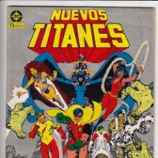 Cómics: NUEVOS TITANES 1 - EDICIONES ZINCO 1984. Lote 296809823