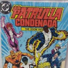 Cómics: COMIC ANTIGUO DE LA PATRULLA CONDENADA AÑO 1988. Lote 296819523