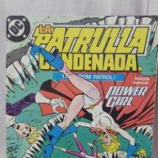 Cómics: COMIC ANTIGUO DE LA PATRULLA CONDENADA AÑO 1988. Lote 296840518