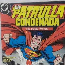 Cómics: COMIC ANTIGUO DE LA PATRULLA CONDENADA AÑO 1988. Lote 296843828