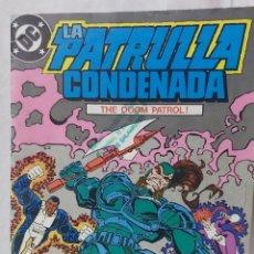 Cómics: COMIC ANTIGUO DE LA PATRULLA CONDENADA AÑO 1988. Lote 296878268