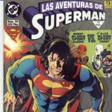Cómics: COMIC SUPERMAN Nº36. Lote 58067