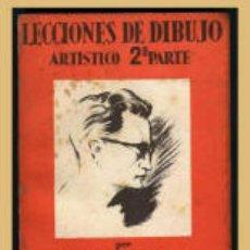 Cómics: LECCIONES DE DIBUJO ARTISTICO 2º PARTE, 1ª EDICIÓN Y REGALO 4 POSTALES DE E.FREIXAS. Lote 9338919