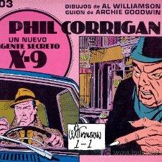 Cómics: PHIL CORRIGAN. Nº 103 -AL WILLIAMSON Y ARCHIE GOODWIN-. ED. ESEUVE, 1991. ENVÍO: 2,50 € *.. Lote 27280163