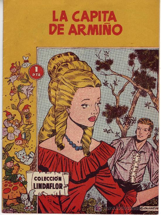 COMIC COLECCION LINDAFLOR -Nº 52 LA CAPITA DE ARMIÑO (Tebeos y Comics Pendientes de Clasificar)
