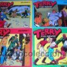 Cómics: TERRY Y LOS PIRATAS. POR MILTON CANIFF.NºS 6,7,8 Y 9.. Lote 3327608