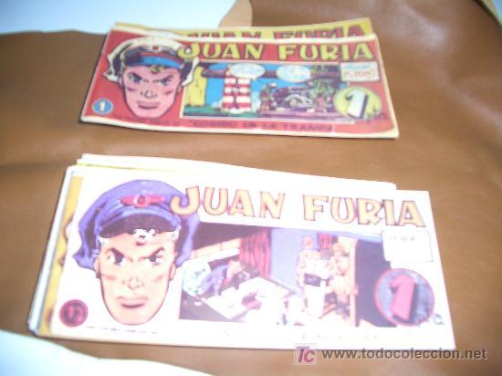JUAN FURIA COLECCION COMPLETA FACSIMIL (Tebeos y Comics - Comics Colecciones y Lotes Avanzados)