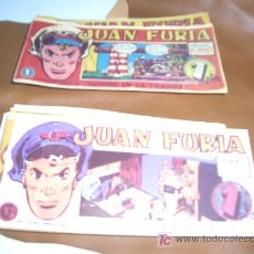 Cómics: JUAN FURIA COLECCION COMPLETA FACSIMIL. Lote 3491130
