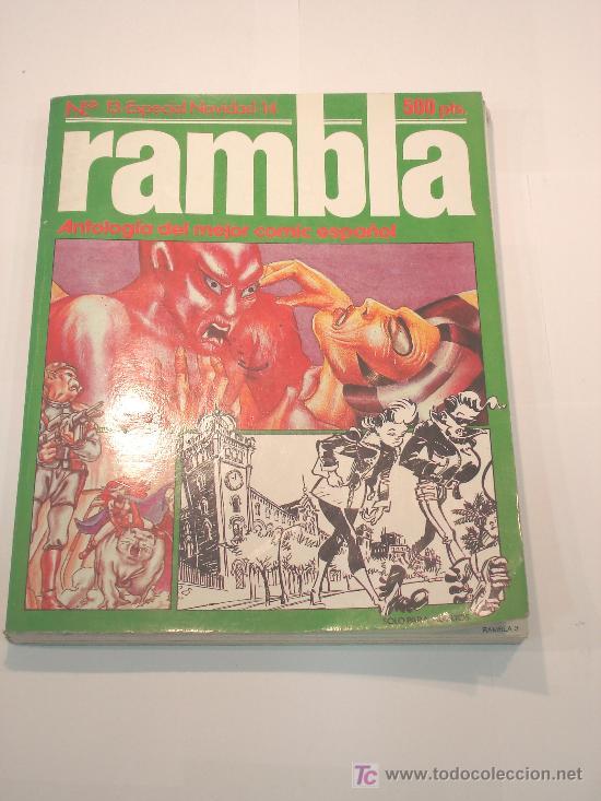COMIC RAMBLA - ANTOLOGIA DEL COMIC ESPAÑOL - RETAPADO (Tebeos y Comics Pendientes de Clasificar)