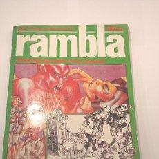 Cómics: COMIC RAMBLA - ANTOLOGIA DEL COMIC ESPAÑOL - RETAPADO. Lote 3779320