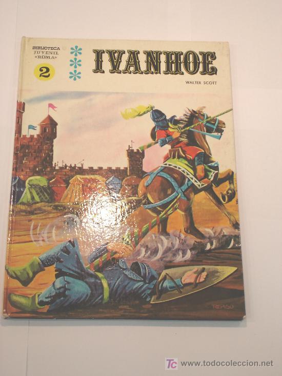 COMIC IVANHOE - TAPA DURA -1970 (Tebeos y Comics Pendientes de Clasificar)